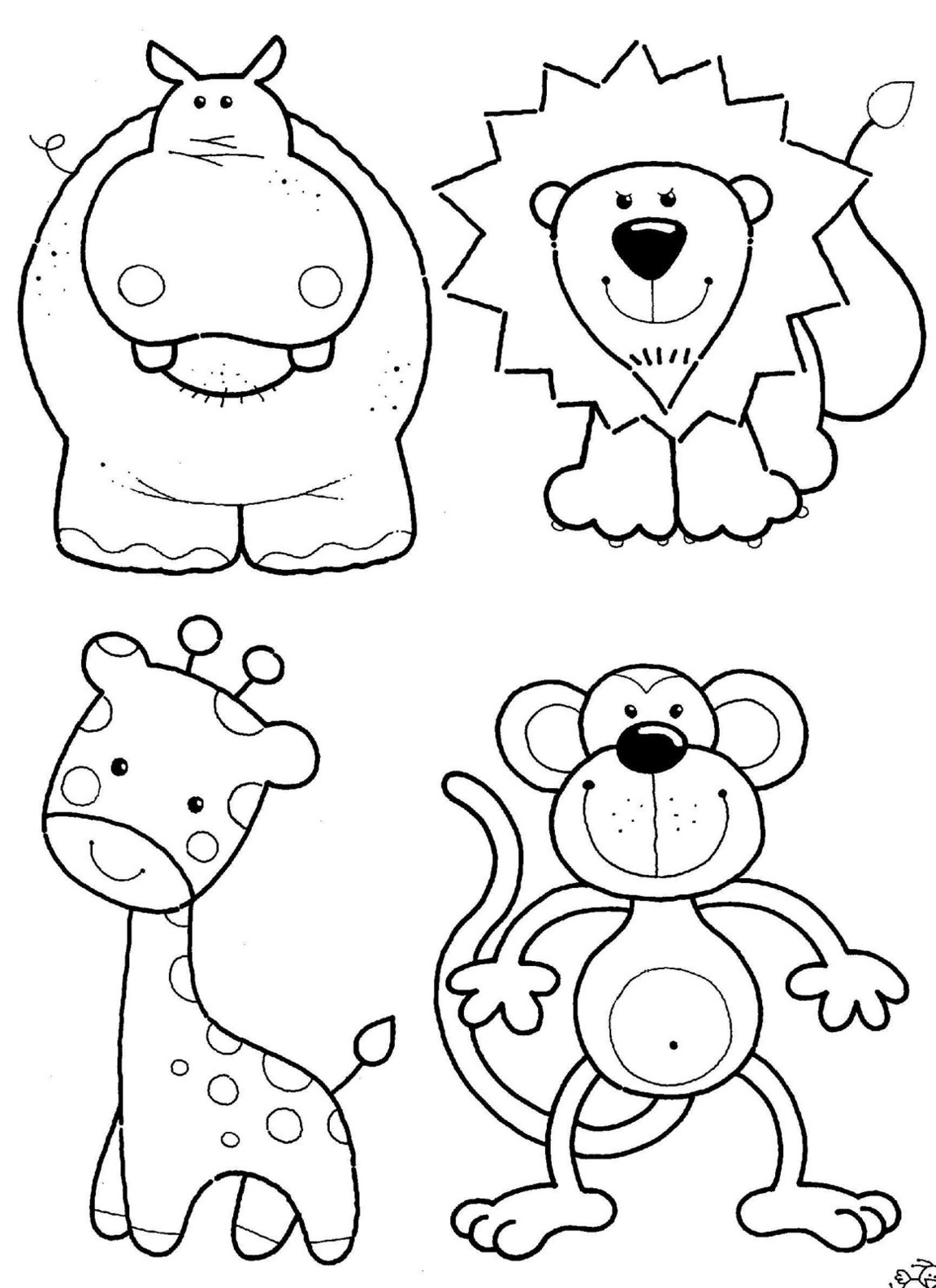 animals coloring pages to print animals coloring pages to print 2
