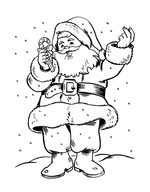 christmas coloring pages online 3