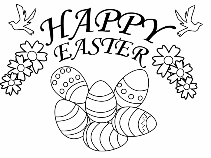 Easter Coloring Pages for Kids | Coloring Town