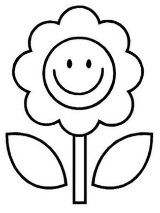 Flower Coloring Pages on Flower Coloring Pages   Coloring Town