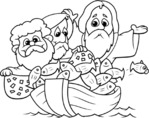 religious coloring pages for kids 1