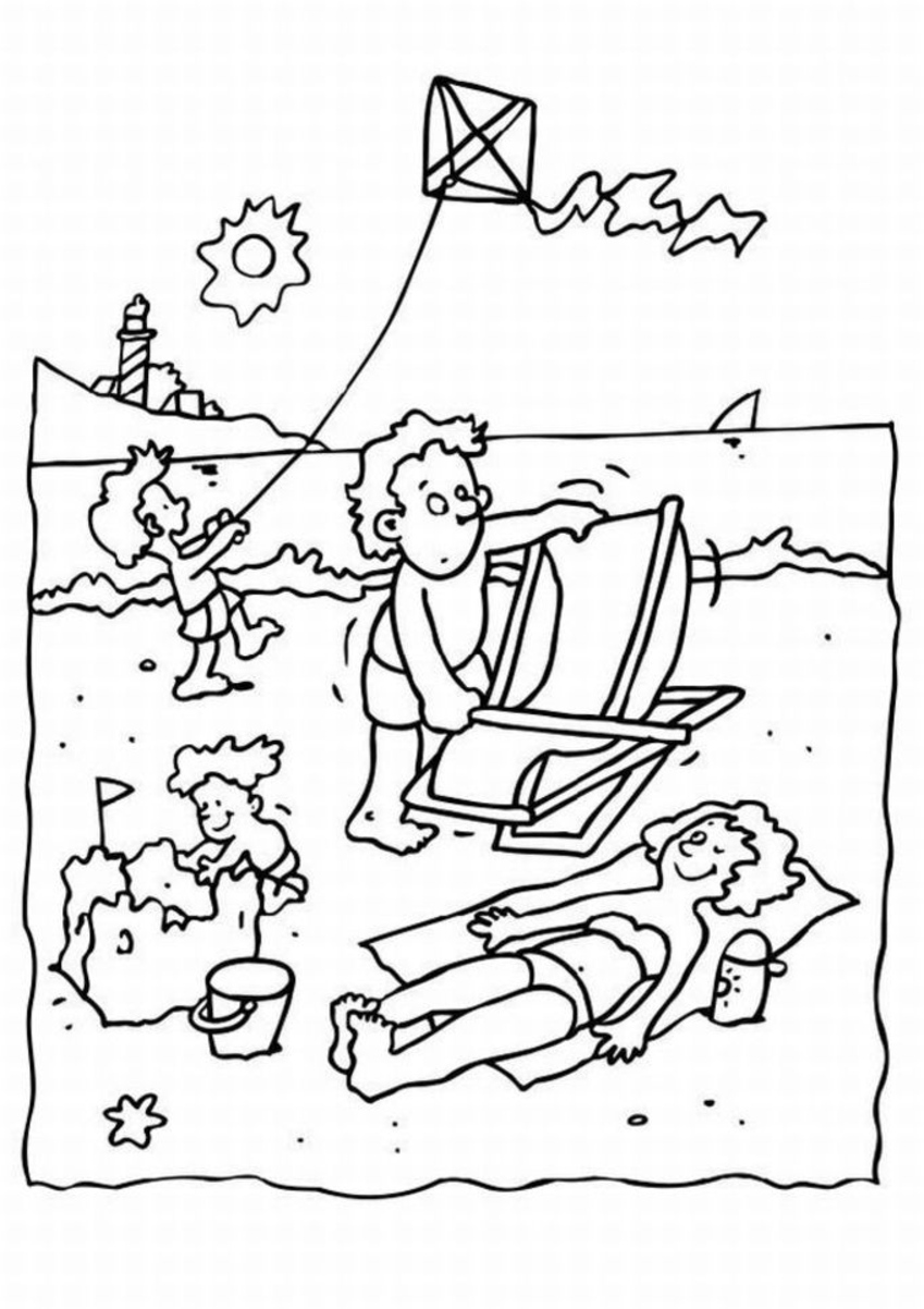Free Coloring Pages Of Name Summer Summer Coloring Pages
